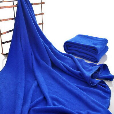 2Pcs Extra Large Microfibre Lightweight Beach Towel Sheet Travel Swimming Summer