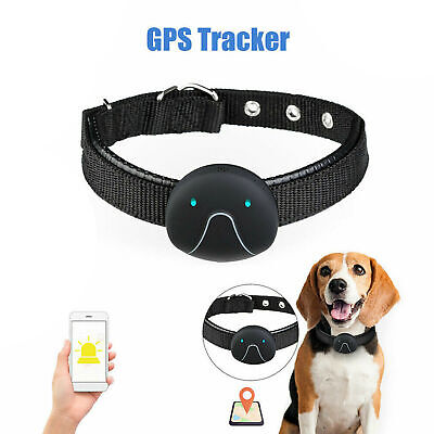 GPS Dog Control Pets Collar Tracker Real Time Tracking Locator Waterproof Finder