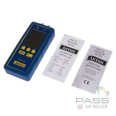 *NEW 2019* Anton APM 155 Differential Manometer with Infrared & Wi-Fi / UK Stock