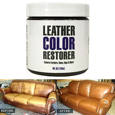 Leather Repair Cream/Filler Compound - For Leather Restoration,Cracks,Burns&Hole