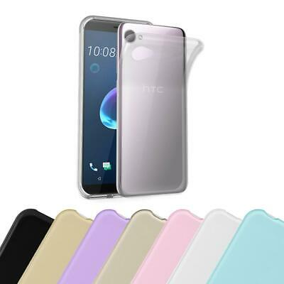 Silicone Case for HTC Desire 12 Shock Proof Cover Ultra Slim TPU Gel