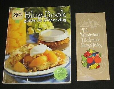 2010 Ball Blue Book Book Preserving Freezing Canning Dehydrating Jelly + Bonus