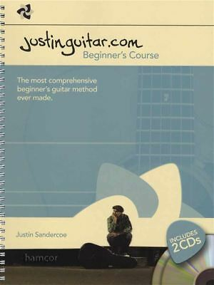 JustinGuitar Beginner's Course Guitar Music Book/2CDs Learn How to Play Method