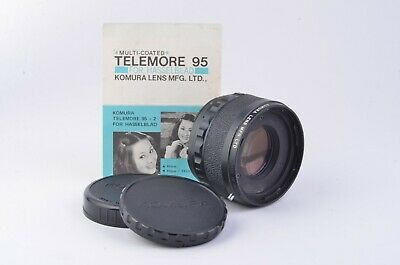 Mint- Komura Telemore 95 2X Converter For Hasselblad, Caps, Very Clean