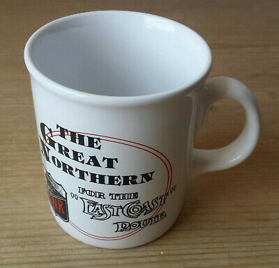The Great Northern Railway GNR Ceramic Mug - Tams Made In England