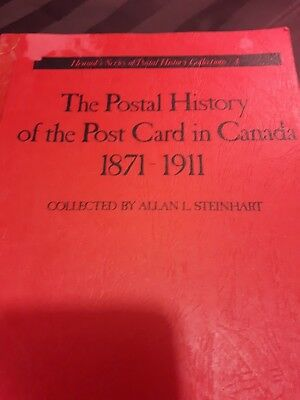The Postal History of the Post Card in Canada 1871 - 1911