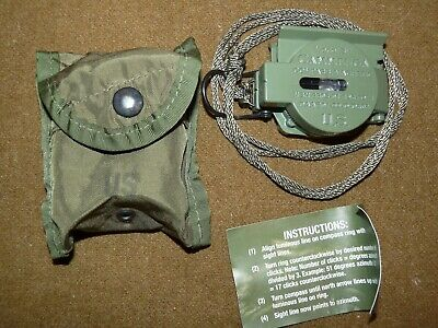 Cammenga Olive Green 3H Tritium Lensatic Compass - US Military Issue