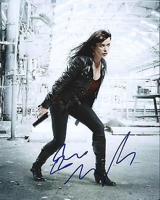 EVE MYLES Signed 8x10 PHOTO GWEN COOPER TORCHWOOD DOCTOR WHO AUTOGRAPHED +COA