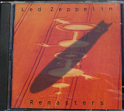 LED ZEPPELIN - Remasters / Original ISRAEL 2 CD Album / Hed Arzi VERY RARE !