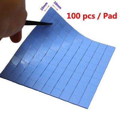 High Conductivity Thermal Pad Heatsink GPU CPU Cooling Pads Silicone Paste Gel