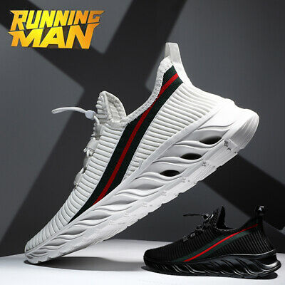 US Mens Fashion Running Shoes Light Breathable Casual Sneakers Athletic Size12