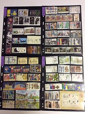 Great Britain - MNH New Issues Collection - Face Value £77+ GBP FV - UK Postage