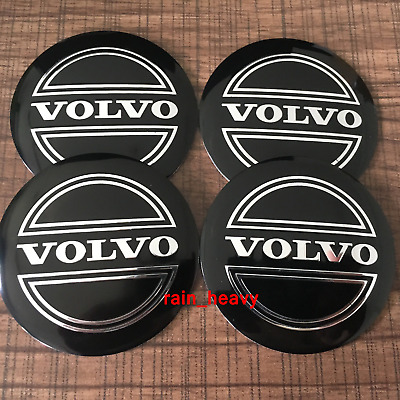 volvo wheel cap center sticker vinyl decal4X in one pack moose racing fits volvo