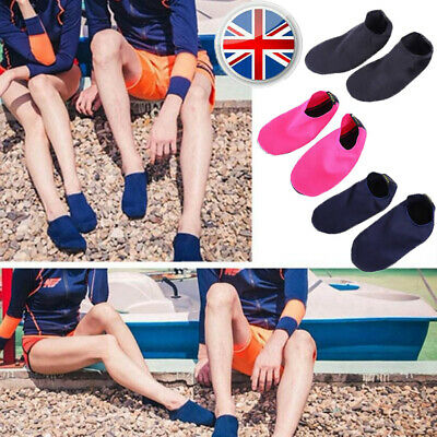 Unisex Women Mens Water Shoes Aqua Socks Diving Sock Wetsuit Non-slip Swim Beach