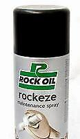 2 x Rock Oil Rockeze Gen. Rust Maintenance Penetrating Lubricating Spray - SPOOX