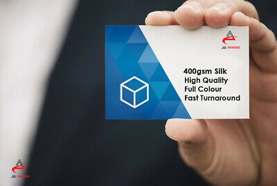Luxury Business Cards High Quality 400gsm Silk Printed Single or Double Sided