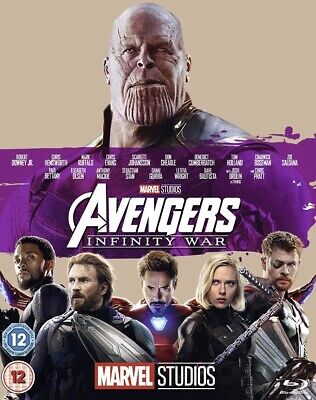 Avengers Infinity War Blu-ray NEW AND FACTORY SEALED