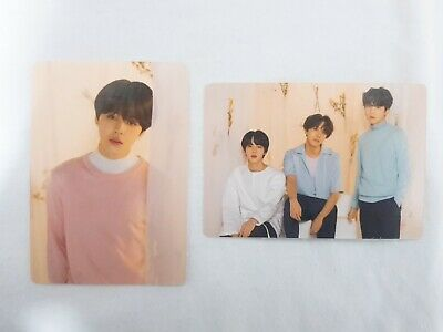 BTS Love Yourself Concert Official Md Mini Photocard (Jimin, Taehyung, J-hope)