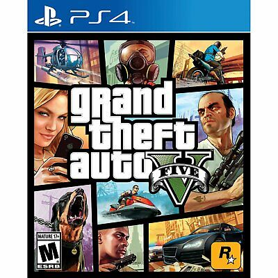 Grand Theft Auto GTA V (PS4)