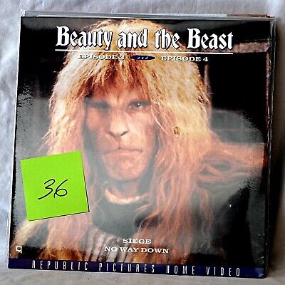 Beauty and the Beast laserdisc -- Episode 3 & 4  NEW SEALED