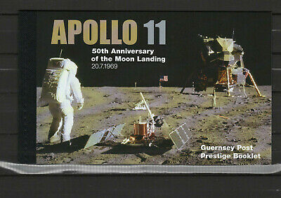 Guernsey 2019 Space Apollo 11 Moon Landing 50th anniversary prestige booklet MNH