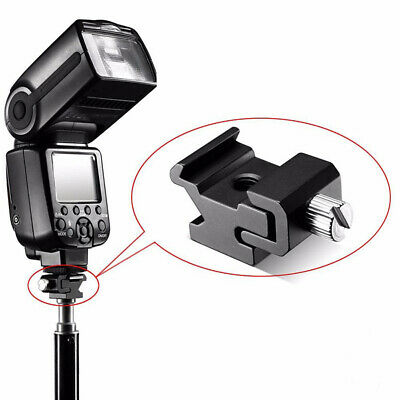 Digital Camera Mount Holder Flash Light Adapter Metal Photo Studio Accessories S