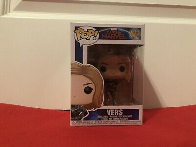 Funko Pop! Marvel: Captain Marvel VERS #427