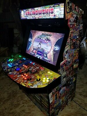"""40"""" LED TV - 4 Player Home Video Arcade Game MAME(TM)"""
