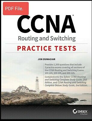 CCNA Routing and Switching Practice Tests by Jon Buhagiar (Read Description)