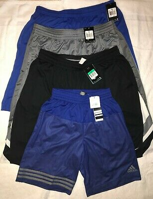 Men's Athletic Shorts - 3 Nike, 1 Adidas
