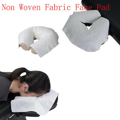 Salon Disposable  Spa Pillow Cover Face Rest Overlay Mat Face Massage Pad