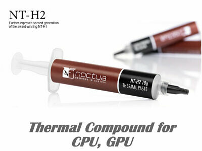 Noctua NT-H2 Enthusiast-Grade Thermal Compound for CPU Graphics 3.5g or 10g Tube