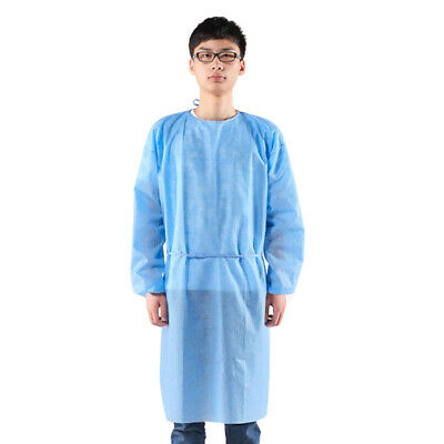 Surgical Gown Reusable Isolation Scrub Nurse Doctor Workwear Medical Protective