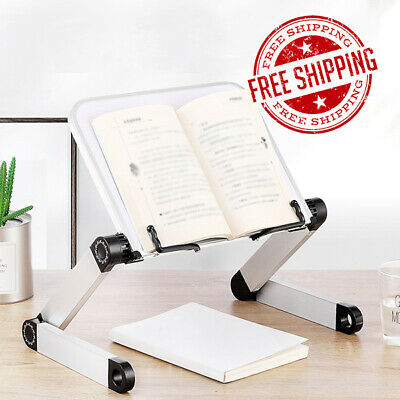 Adjustable Portable Book Document Stand Holder Reading Desk Bookstand Student