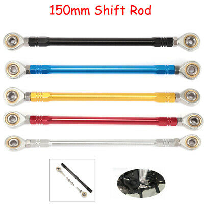 CNC Motorcycle Shift Rod Linkage Rod Ends Adjustable Position Rearsets Universal