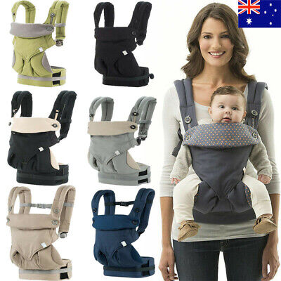 New Baby Infant Safety Carrier 360 Four Position Breathable Baby Lap Strap AU