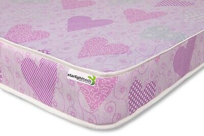 3ft Pink Budget Single Mattress (90x190cm) Great for Children. FREE UK DELIVERY