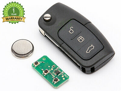 CLE POUR FORD GALAXY FOCUS FIESTA MONDEO S-MAX TELECOMMANDE 433Mhz 4D63 1337641