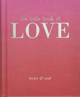 The Little Book of Love By Tiddy Rowan, Romantic Relationships Hardback NEW