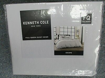 Kenneth Cole NEW YORK Full/queen Duvet Cover ESCAPE LILAC BRAND new beautiful