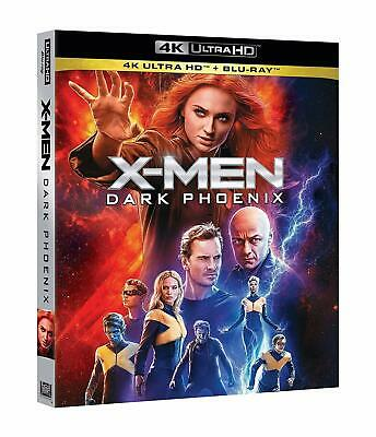 X-MEN Dark Phoenix (2 BLU-RAY 4K Uhd + Blu-ray) Jennifer Lawrence,Sophie Turner