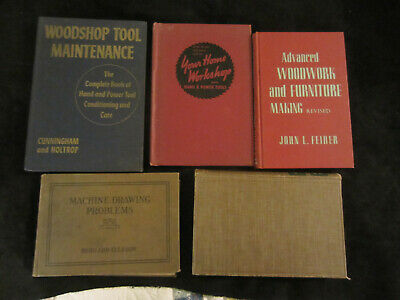 Vintage Farm, Shop, Workshop & Woodworking Books