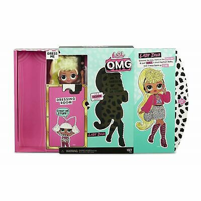 L.O.L. Surprise! - LOL Surprise OMG Doll: Lady Diva - Brand New