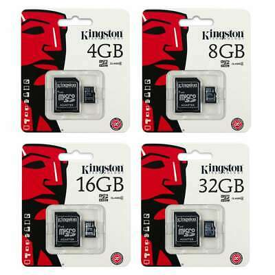 New Kingston 80MB/s 16GB 32GB 64GB 128GB Micro SD SDHC UHS-I Class10 Memory Card