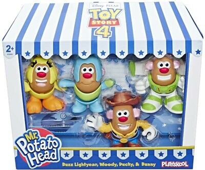 Disney Pixar Toy Story 4 - Mr Potato Head Mini 4 Pack - Brand New