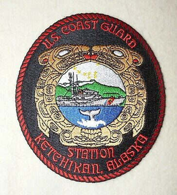 US COAST GUARD Patch - Whec 724 Uss Munro - Only Uscg Medal