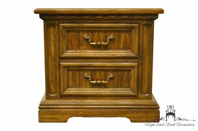 "DIXIE FURNITURE Italian Provincial 26"" Two Drawer Nightstand / Commode 588-621"