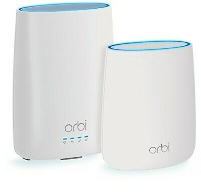 NETGEAR Orbi Whole Home WiFi System with Built-in Cable Modem (CBK40)