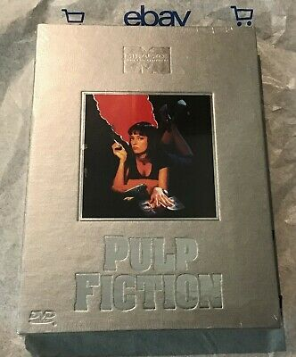 Pulp Fiction (DVD, 2-Disc, Classic Collection Series Box Set) Brand New!