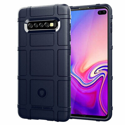 Slim Hybrid Rubber Armor Case for Samsung Galaxy S8 S9 S10 Plus Note10 Pro Cover